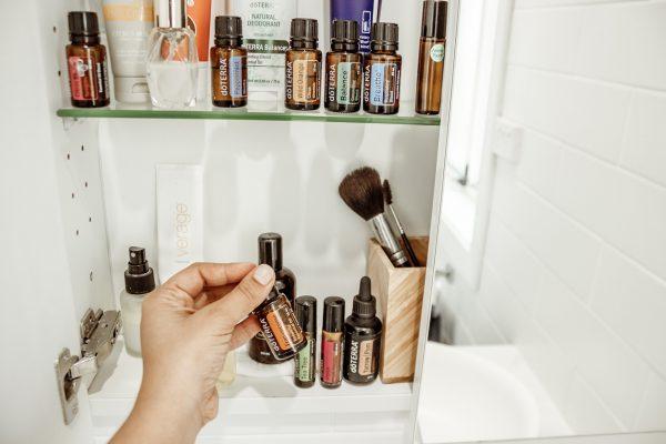 doTerra esenciálne oleje v kúpeľni